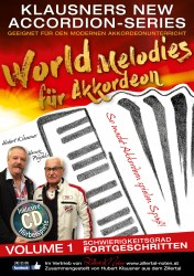Heft_World Melodies Fortgeschrittene Volume 13